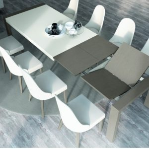 Sorrento Extending Dining Table, by Mobili Domani