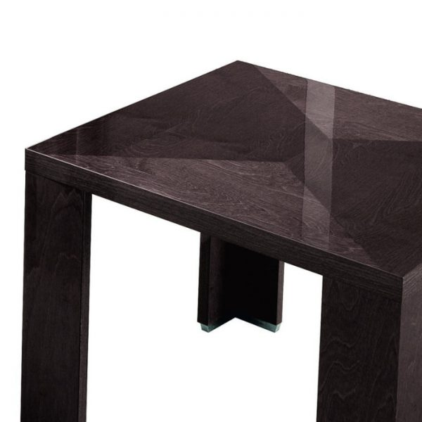 Eva Lamp Table In High Gloss, by Mobili Domani