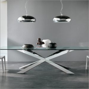 Cattelan Italia Spyder Glass Table, by Philip Jackson