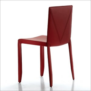 Cattelan Italia Piuma Leather Dining Chair, by Studio Kronos