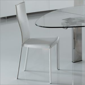 Cattelan Italia Nina Leather Dining Chair, by Pao Cattelan