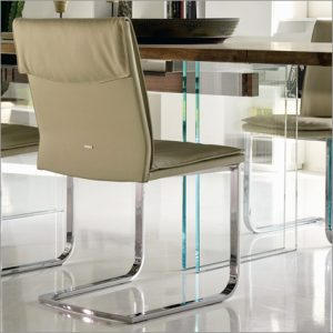 Cattelan Italia Liz Leather Dining Chair, by Pao Cattelan