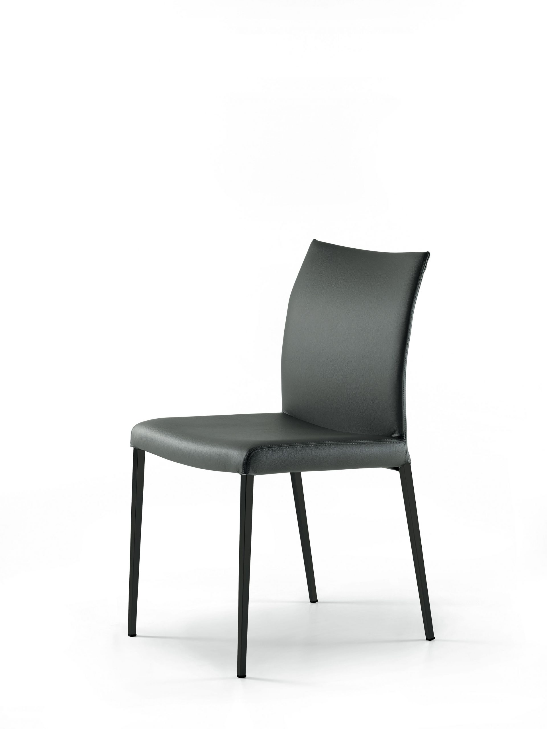 Cattelan Italia Anna Leather Dining Chair By Studio Kronos