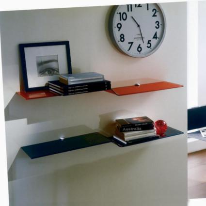 Bontempi Casa Wing Wall Glass Shelf