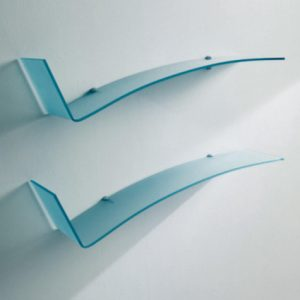 Bontempi Casa Jazz Wall Glass Shelf