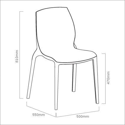 Bontempi Casa Hidra Dining Chair