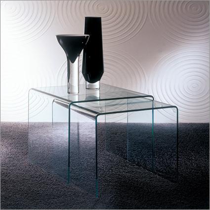 Bontempi Casa Igloo Glass Side Table