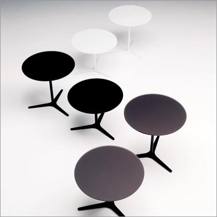 Bontempi Casa Elica Glass Side Table