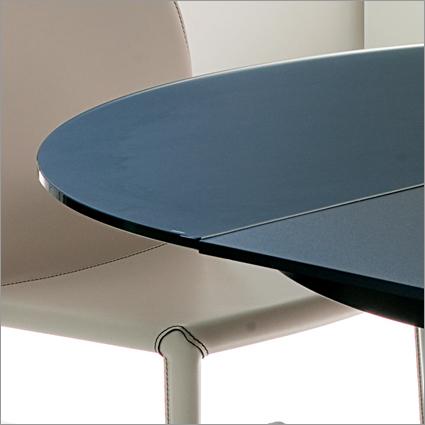 Bontempi Casa Barone Round Exteding Table