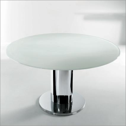 Bontempi Casa Giro Glass Extending Table