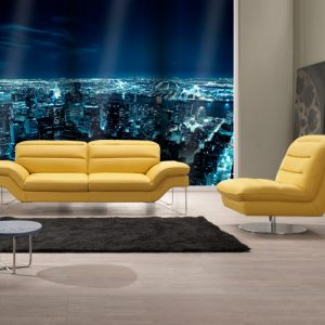 Mobili Domani Aubrey Sofa Collection, Leather