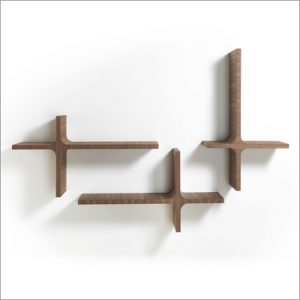 Porada Milo Wall Shelf, by M. Marconato & T. Zappa
