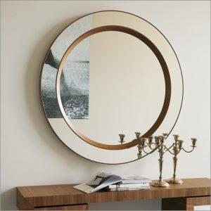 Porada Miss Tondo Wall Mirror, by T. Colzani