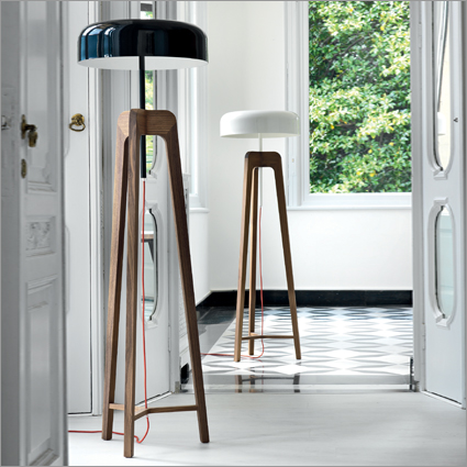 Porada Pileo Floor Lamp, by Sovvrappensiero