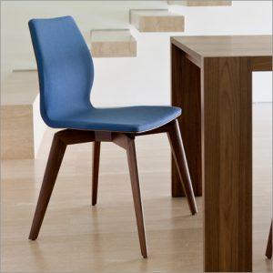 Porada Tilde Dining Chair, by A. Mandelli & M. Franzanti