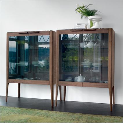 Porada Atlante Display Cabinet, by C. Ballabio