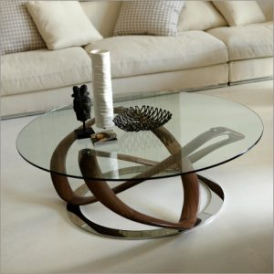 Porada Infinity Glass Coffee Table, by S. Bigi
