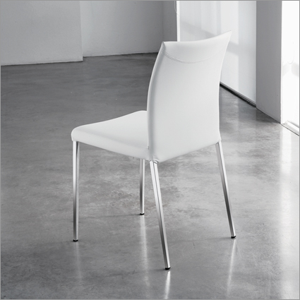 Cattelan Italia Anna Leather Dining Chair, by Studio Kronos