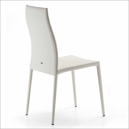 Cattelan Italia Maya Flex Leather Dining Chair, by Pao Cattelan