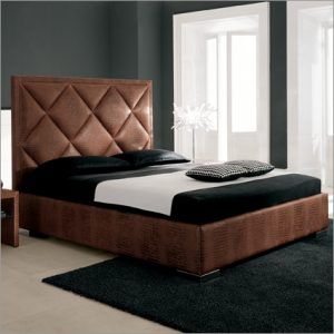 Cattelan Italia Patrick Leather Bed, by Ca Nova Design