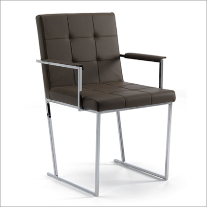Cattelan Italia Kate Leather Dining Chair, by Giorgio Cattelan