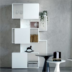 Cattelan Italia Piquant Bookcase, by Andrea Lucatello