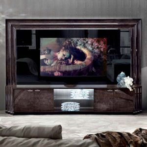 Giorgio Collection Absolute Big Screen TV Media Unit, Back Panel