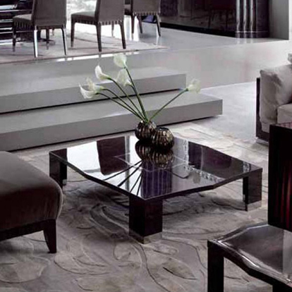 Giorgio Collection Absolute Square Coffee or Cocktail Table
