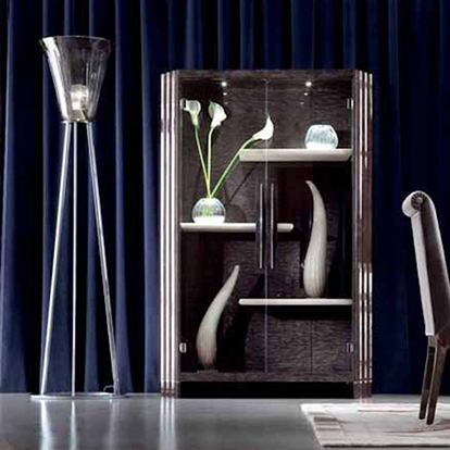 Giorgio Collection Absolute Vetrine Glazed Cabinet