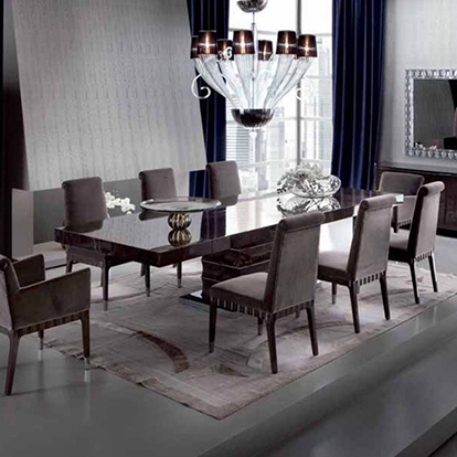 Giorgio Collection Absolute Extending Rectangular Dining Table