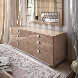 Giorgio Collection Sunrise Dresser, 6 Drawers