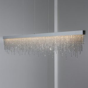 Mobili Domani Frosted Crystal Pendant Light