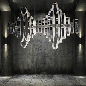 Mobili Domani Hearts Modular Pendant Light