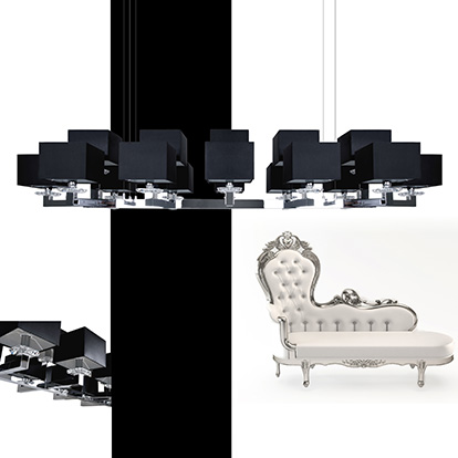 Mobili Domani Ballet Long Double Pendant Light