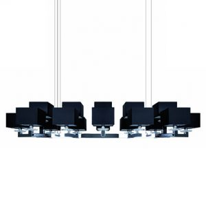 Mobili Domani Ballet Long Double Pendant Light