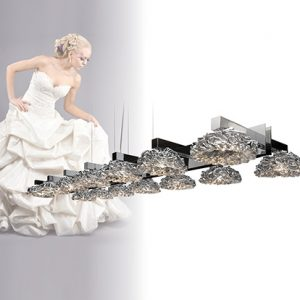 Mobili Domani Elegance Long Double Pendant Light