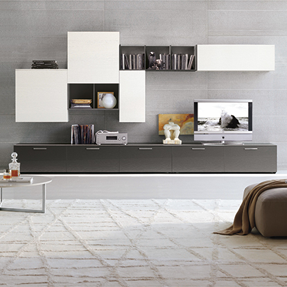 Mobili Domani Atlantic C128 Modular TV Unit