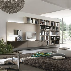 Mobili Domani Atlantic C301 Modular Wall Mounted TV Unit
