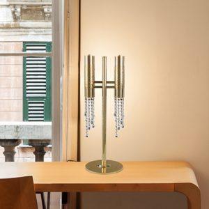 Mobili Domani Saffron Twin Table Lamp