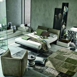 Mobili Domani Piuma Continental Kingsize Bed