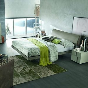 Mobili Domani Narciso Continental Kingsize Bed