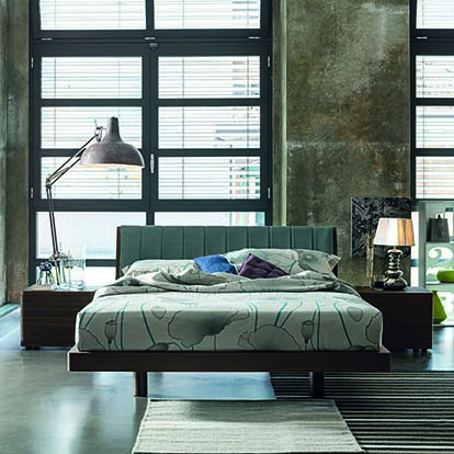 Mobili Domani Liz Continental Kingsize Bed
