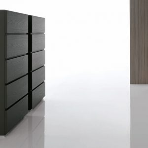 Mobili Domani Replay Tallboy Chest of Drawers, 5 Drawers