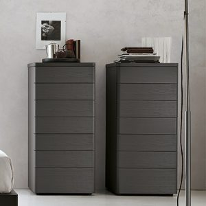 Mobili Domani Dolcevita Tallboy Chest of Drawers, 7 Drawers