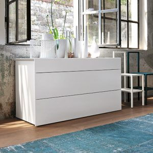 Mobili Domani Pass Chest of Drawers, 3 Drawers