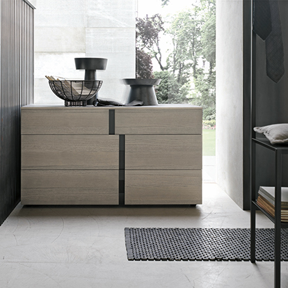 Mobili Domani Athena Chest of Drawers, 3 Drawers