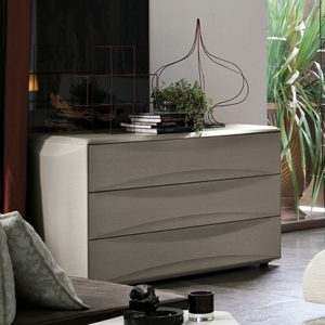 Mobili Domani Sidney Chest of Drawers, 3 Drawers