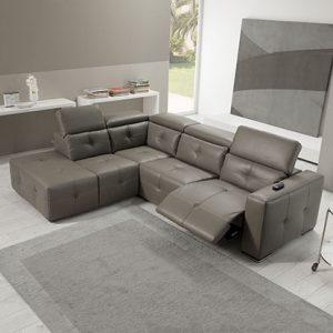 Mobili Domani Via Milano Electric Recliner Sofa Collection