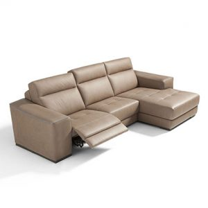 Mobili Domani Madeline Reclining Leather Sofa Collection