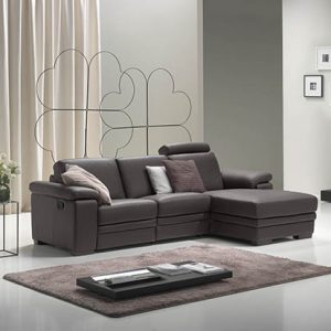 Mobili Domani Harmony Reclining Leather Sofa Collection